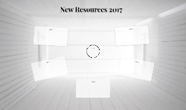 New Resources 2017