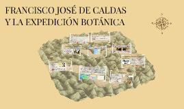 FRANCISCO JOSÉ DE CALDAS Y TENORIO