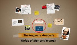 Shakespeare Analysis