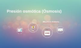 Presión osmotica (Osmosis)