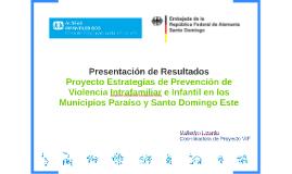 Presentación de Resultados Proyecto VIF