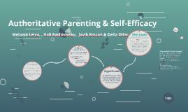 Authoritative Parenting and Self-Efficacy