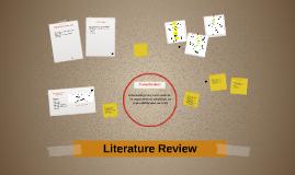 Literature Review Robotics