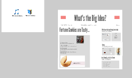 What's the big idea?
