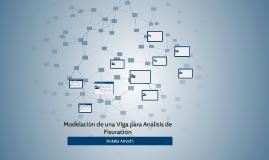 Modelación de una Viga para Análisis de Fisuración