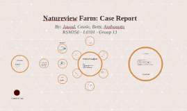 Copy of Natureview Farm: Case Report