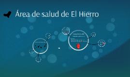 Copy of Área de salud de El Hierro