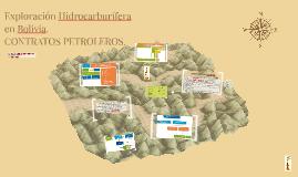 Exploración Hidrocarburífera en Bolivia.