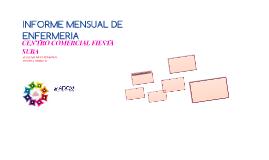 INFORME MENSUAL DE ENFERMERIA