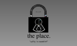 The Place - A Utopian Society
