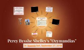 "Percy Bysshe Shelley's ""Ozymandias"""