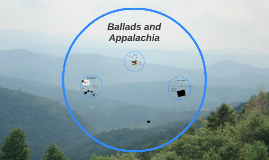 Ballads and Appalachia