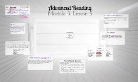 CL Module 3: Lesson 5