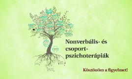 A nonverbális pszichoterápiák