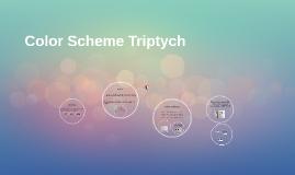 Color Scheme Triptych