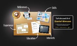 Desktop Prezumé by Daniel Bimson
