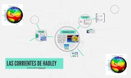 LAS CORRIENTES DE HADLEY