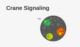 Crane Signaling