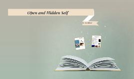 Open and Hidden Self