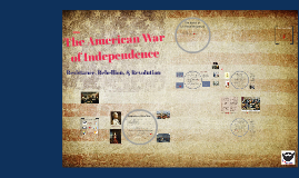 8.4 - The American War of Independence