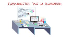 FUNDAMENTOS DE LA PLANEACIÓN.