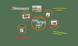 Copy of Dinosaurs