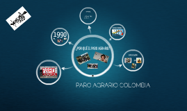PARO AGRARIO COLOMBIA