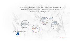 Las tecnologías de la información y la comunicación como un