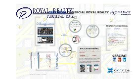 Propuesta Comercial Royal Realty