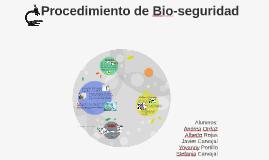 Procedimiento de Bio-seguridad