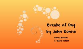 Breake of Day