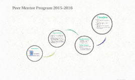 Peer Mentor Program 2015-2016