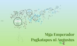 Mga Emperador Pagkatapos ni Augustus