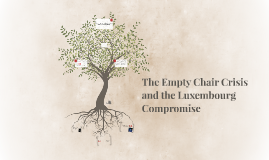 The empty chair crisis and the Luxemburg compromise