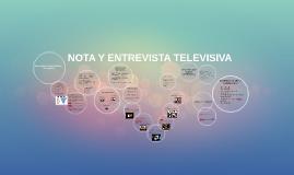 NOTA Y ENTREVISTA TELEVISIVA