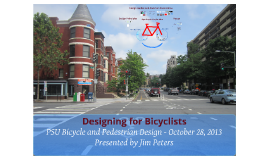 Designing for Bicyclists