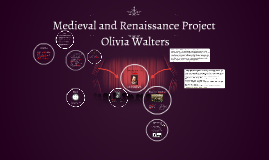 Medieval and Renaissance Project