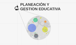 PLANEACIÒN Y GESTION EDUCATIVA