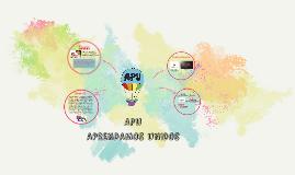Copy of APU - Diseño de Proyectos