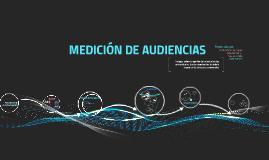 MEDICIÓN DE AUDIENCIAS