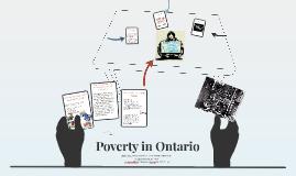 Poverty in Ontario