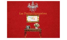 Les Traités Européen