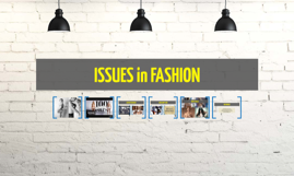 ISSUES in FASHION