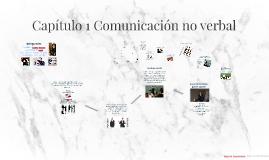 Capítulo 1 Comunicación no verbal