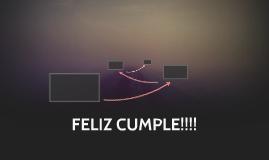 FELIZ CUMPLE!!!!