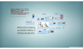 proveedores acreedores y presupuesto