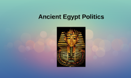 opportunities provided by ancient egypts political system Government and religion were inseparable in ancient egypt the pharaoh was the head of state and the divine representative of the gods on earth religion and government brought order to society through the construction of temples, the creation of laws, taxation, the organization of labour, trade with neighbours and the defence of the country's interests.