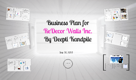 Business Plan for ReDecor Walls Inc.