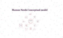 Human needs model