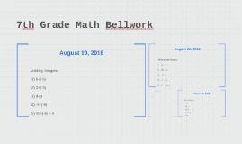 Copy of 7th Grade Math Bellwork